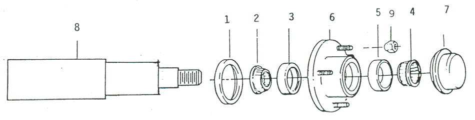 endunit pontoon trailers 101 axles hubs and bearings page 2 trailer bearing diagram at suagrazia.org