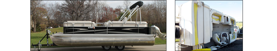 Pontoon Trailers 101 - Center Lift Pontoon Boat Trailers