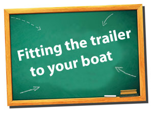 fitting your trailer to your pontoon boat