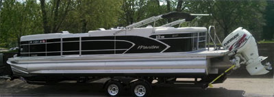 selecting the right trailer for your pontoon boat