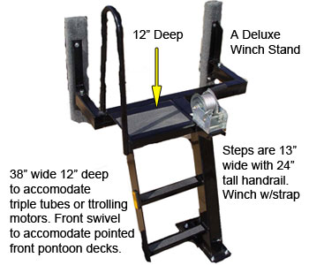 Deluxe winch stand